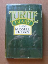 TURTLE DIARY by Russell Hoban - 1st/1st HCDJ 1975