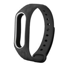 New TPE Silicon Wrist Strap WristBand Bracelet Replacement For XIAOMI MI Band 2