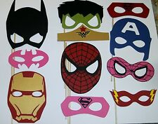 Hand Crafted Super Hero props/ Spiderman, Batman, Flash, Ironman, Hulk (2173D)