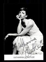 Katharina Schüttler Autogrammkarte Original Signiert # BC 108383