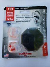 Surefire Ep3 Sonic Defenders Filtered Ear Plugs Size Medium Npr 24 dB shooting