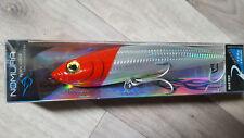 Jerk BIG GAME seppie RONDINE Bait MARLIN Tuna Wahoo halibut 14cm, 125gr ARGENTO