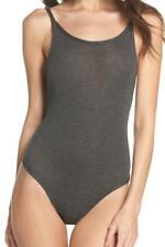 New with Tag - Skarlett Blue Undressed Black Modal/Spandex Tank Bodysuit Size M