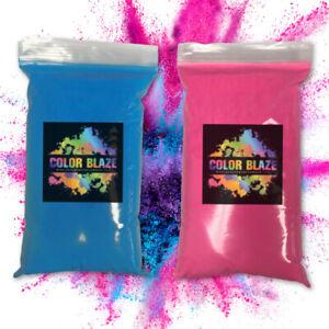 Color Blaze Gender Reveal Powder- 1 lb Pink & 1 lb Blue (2 Pounds Total) Baby Pa