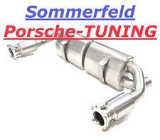 Porsche 996 Turbo Sportauspuff + 200 Zellen Katalysator Sport Exhaust Muffler
