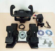 Saitek Pro Flight yoke system - Flight yoke, Rudder pedals & Throttle