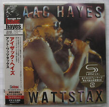 Isaac Hayes-At WATTSTAX Japon SHM MINI LP CD OBI Nouveau UCCO - 9521
