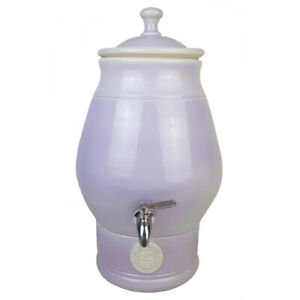 Valley Pottery Handcrafted Ceramic Water Filter Purifier with Filter cartridge