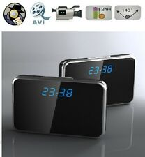 New Digital Alarm Clock Security DVR Spy Hidden Camera Motion Detection Camcorde