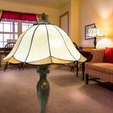 Tiffany Tischlampe Bronze 1 Flg. Glas Tischlampe Schalter E27 Sorpetaler