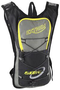 Rucksack für Fahrrad Motorrad Bike mit Brustgurt schmal wasserabweisend leicht