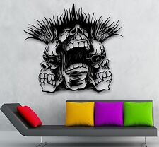 Wall Stickers Vinyl Decal Hardcore Face Cool Youth Decor (ig1763)