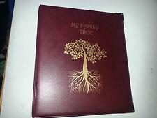Mi Familia árbol-Historia De Almacenamiento Binder ref Clásico Borgoña Con Tapa De 50 mm 4d
