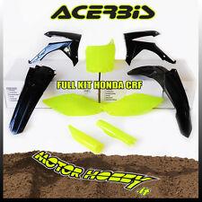 KIT PLASTICHE FULL KIT ACERBIS HONDA CRF 25014-17 CRF 450 13-16 GIALLO FLUO NERO