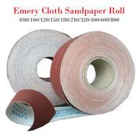1-10M Rolle Schleifpapier Schmirgelpapier Schleifrolle Sandpapier Korn P80-P800