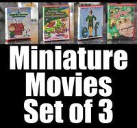 LOT OF 3 VHS/DVD Cases Mezco, Marvel Legends, NECA 1/12