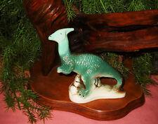 Heavy Vintage Porcelain Dinosaur Figurine Aquarium Ornament - Cool Shelf Sitter