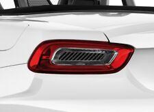 Abarth Fiat 124 Spider Modanatura Fibra di Carbonio Cover Centrale
