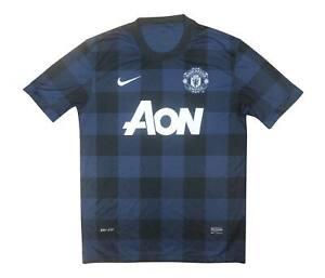 Manchester United 2013-14 Original Away Shirt (Very Good) M Soccer Jersey