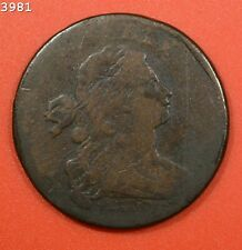 """1798 Draped Bust Large Cent """"Good"""" *Free S/H After 1st Item*"""