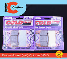 2003 - 2004 HONDA CBR 600 RR - FRONT S33 CERAMIC CARBON BRAKE PADS - 2 PAIR