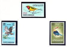 JORDON 1964 SG627/9 - Air set of 3 birds superb unmounted mint. Catalogue £280.