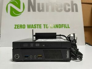 Lenovo Tiny Desktop PC M93P i7-4765T 2.00GHZ 8GB 320GB DVDRW WIFI Linux W/AC
