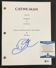 Halle Berry autograph signed Catwoman full movie Script ~ Beckett BAS COA