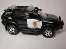 MATCHBOX FORD EXPLORER PARTS OF  SAN DIEGO POLICE  SERIES   SINGLE