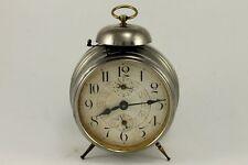 Antique German Desk Alarm Clock Bell 1920's