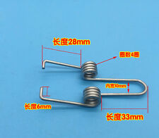 Wire Dia 2mm OD 11mm 3 OR 4 Coils Torsion Spring 2PCS