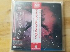 King Crimson Islands HQCD+DVD+Sleeve w. Double OBI Japan Mini-LP CD IEZP-22 NEW