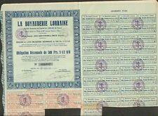 LA BOYAUDERIE LORRAINE (METZ 54) (W)