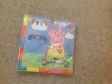 Peppa Pig 16 Paper Napkins Birthday Party Colourful 2ply