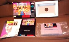 THE COMBATRIBES SNES Complete in Box CIB TESTED Authentic great shape! RARE