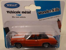 WELLY 1/64 chevrolet chevelle ss 454