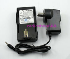 2700mAh  Li-ion Battery Pack & Charger for Motorola Radio VISAR JMN4013B AU Type