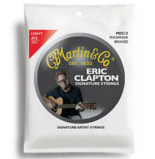 Martin MEC12 Eric Clapton's Choice Acoustic Guitar Strings Phosphor Bronze Light