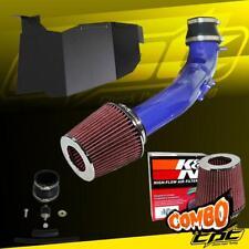 For 16-20 Honda Civic 2.0L Non-Turbo 4cyl Blue Cold Air Intake + K&N Air Filter