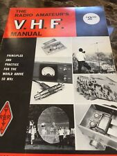 (1) Vintage The Radio Amateur's V.H.F. Manual, Used, Third Edition (1972)
