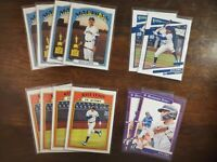 2021 TOPPS HERITAGE DONRUSS KYLE LEWIS IN ACTION DIAMOND KING BASE LOT OF (12)