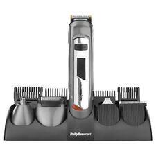 BaByliss 7235U Mens Rechargeable Hair Beard Trimmer Clipper Titanium Kit Set New