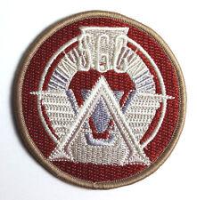 "Stargate Command SGC Desert Camo Logo 3"" Uniform Patch- FREE S&H  (SGPA-02-DC)"