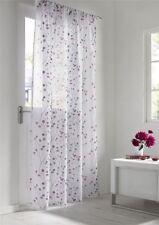 Rideau blanc avec un motif Floral pour la maison