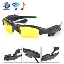 Sunglasses 4.1 Bluetooth Stereo Headset Headphone Sun Antiglare Glasses Micphone