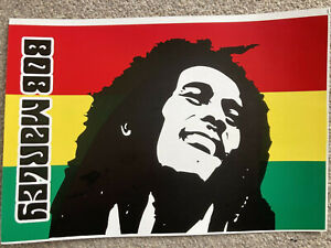 One Large Bob Marley Music Sticker Vinyl Decal - 26.5cm x 16.5cm