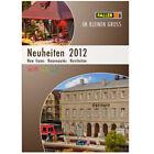 Catalog Brochure FALLER Neuheiten 2012 Kleinen Gross English French German