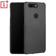Ultra-thin Sandstone Quicksand Hard Back Cover Case For Oneplus 5T Black