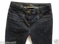 River Island Ladies Jeans Size 10 S skinny kick flare bootleg high waisted 30/30