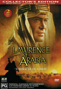 Lawrence Of Arabia DVD TOP 250 MOVIES 2-DISCS COLLECTOR'S EDITION BRAND NEW R4